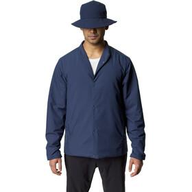 Houdini Enfold Jacket Men bucket blue